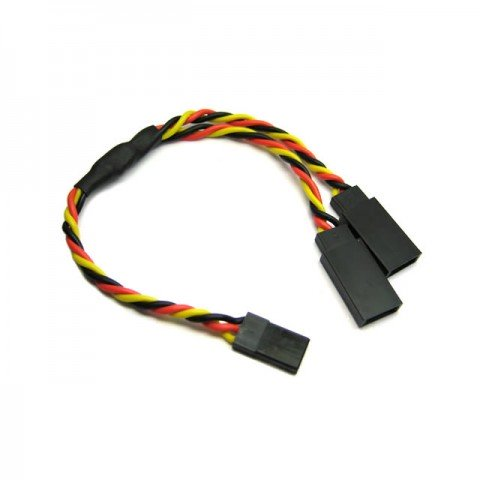 Etronix 22AWG 30cm JR Twisted Y Lead Extension Wire - ET0754