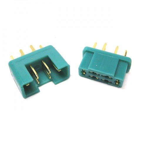 Etronix MPX Plug (1 Male/1 Female) - ET0786