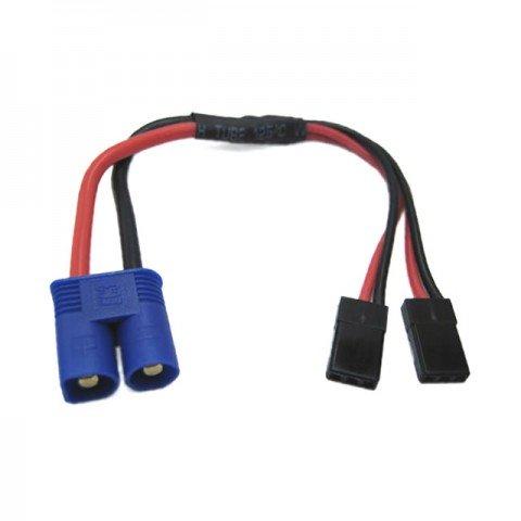 Etronix EC3 Connector to Dual JR Y Wire - ET0815