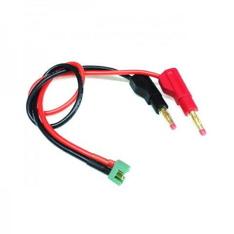 Logic RC Charger Lead 4mm Gold Banana Connectors to Multiplex Connector - LGL-CLMPX