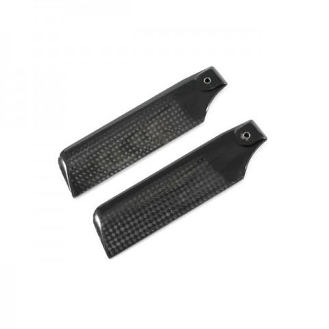Pro 3D 107mm Carbon Fibre Tail Blade (2 Blades) - PRO1071