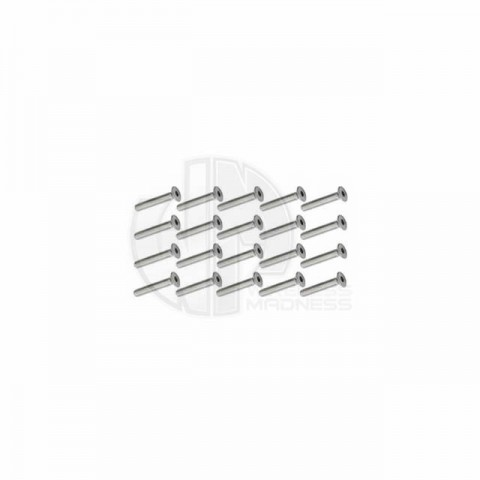 Simply RC M3 x 16 Socket Counter Sunk Screw (Pack of 20 Screws) - SRC-40025
