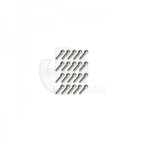 Simply RC M4 x 12 Socket Cap Screw (Pack of 20 Screws) - SRC-40048