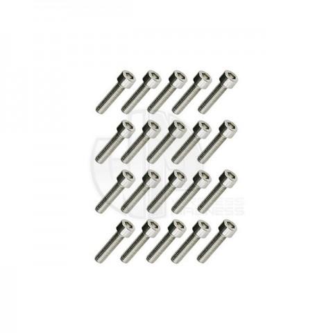 Simply RC M4 x 25 Socket Cap Screw (Pack of 20 Screws) - SRC-40051