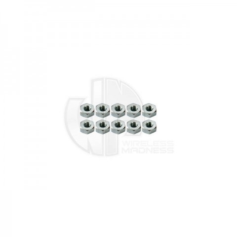 Simply RC M4 Hex Nut (Pack of 10 Nuts) - SRC-40061