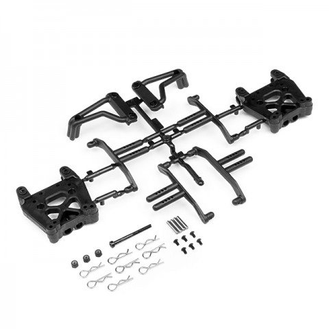 HPI Shock Tower/Body Mount/Roll Bar Set for the Savage XS Flux - 105312