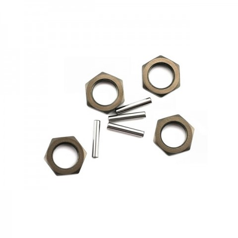 Losi 8ight Hard Anodised Wheel Nuts and Pins (Pack of 4) - LOSA3531