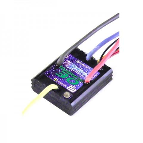Mtroniks TIO-Marine 30 AMP ESC works with LiPo, Lead Acid, NiMh and NiCd Batteries - TIOMARINE30