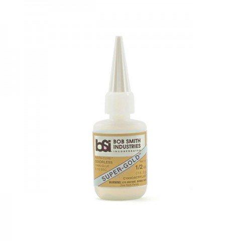 Bob Smith Industries Super-Gold Foam Safe 1/2oz Thin CA Glue - BSI121