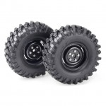 Absima 1/10 Crawler Steelhammer 108mm Tyre and Wheel Set (Pack of 2) - 2500030
