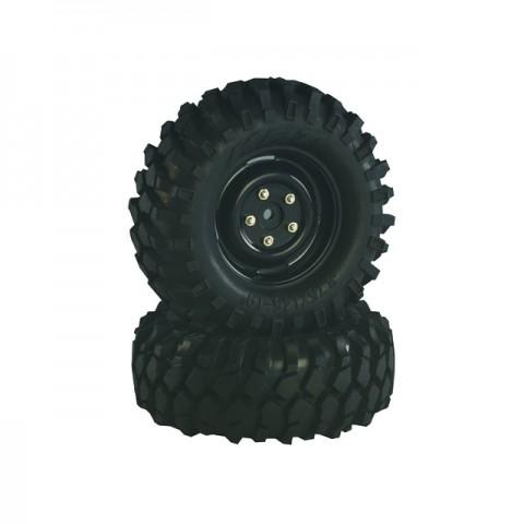 Absima 1/10 Crawler Steelhammer Wheel Set 96mm (Pack of 2) - 2500031