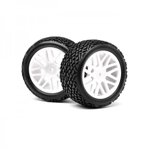 Maverick 1/10 Rear Buggy 12mm Hex Wheel with Tyre (Set of 2 Wheels) - MV22707