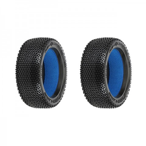 Pro-Line Revolver 2.0 1/8th Off-Road M2 Buggy Tyres with Inserts (Set of 2 Tyres) - PL9037-01