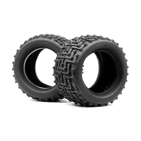 HPI Bullet MT High Traction Ammunition Tyres with Foam Inserts (Pack of 2) - 101308