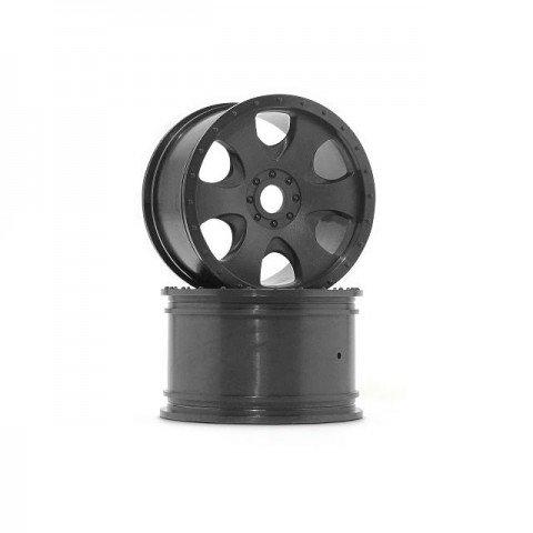 HPI Warlock Black Wheel 83x56mm (2 Wheels) - 3191