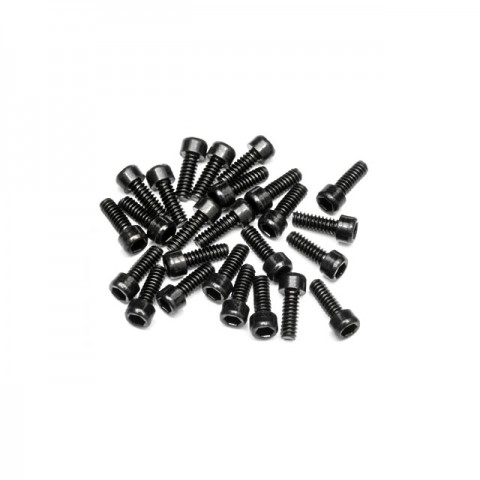HPI 2.5mm Hex Socket Wheel Screw M4 (40mm) (25 Screws) - Z340