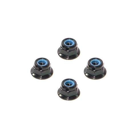 HPI Flange Lock Nut M4 (4 Nuts) - Z684
