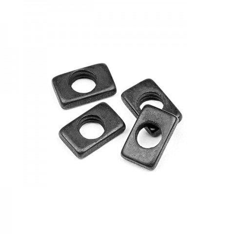 HPI Steering Nut 3mm (Pack of 4 Nuts) - 101226