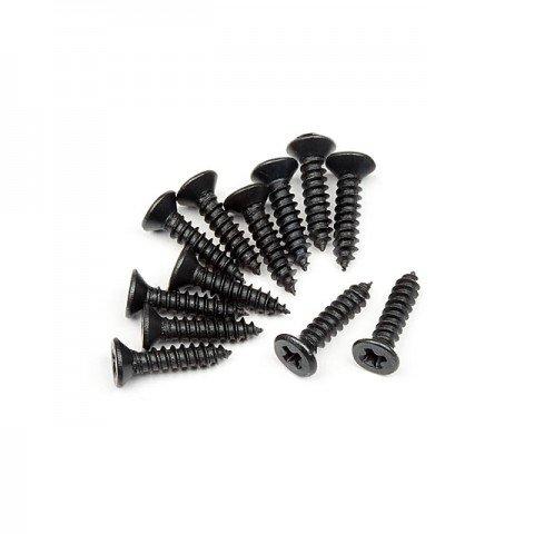 HPI TP Flat Head Screw M2.6x12mm (12 Screws) - 101273