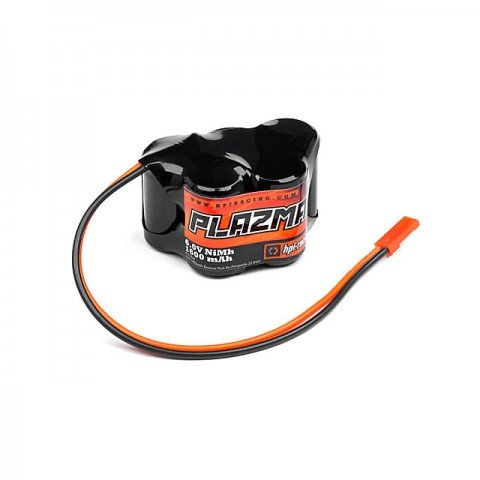 HPI Plazma 6.0V 1600mAh NiMh Receiver Pack Re-Chargeable 3+2 Hump Pack Battery with Bec Plug - 101936