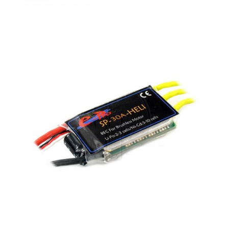 J Perkins E-Pro SP30A-Bec-Heli Brushless 30A Electronic Speed Controller (ESC) - 4404720