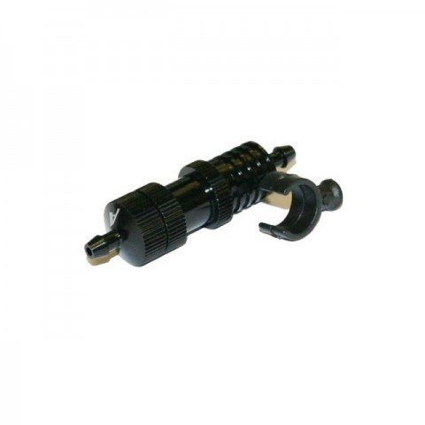 Answer RC Fuel Filter Pressure Stabilising Tube with Mounting Bracket (Black) - ANSFC0001-B