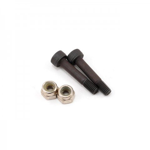 Blade 450 Main Rotor Blade Mounting Screw and Nut Set (2 Sets) - BLH1616