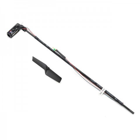 Blade mCPX and mCP X V2 Long Tail Boom Assembly with Tail Motor - BLH3602L