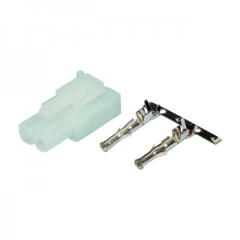 Etronix Tamiya Male Block and Female Connector Crimps - ET0794