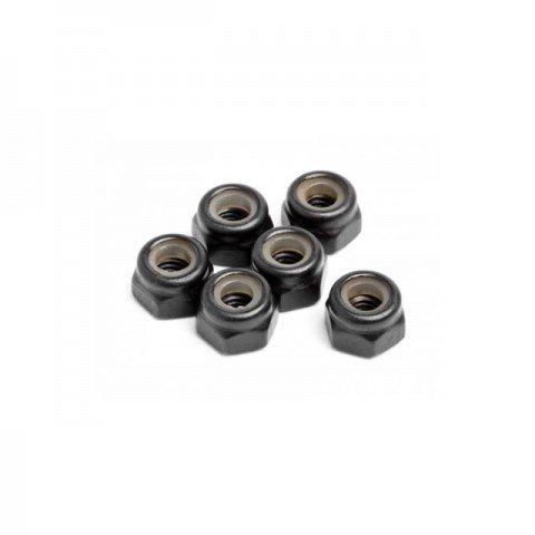 Maverick M3 Nylon Lock Nut (Pack of 6 Nuts) - MV22062