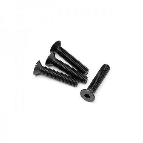 Maverick M5x25mm Flat Head Screw (Pack of 4 Screws) - MV24079