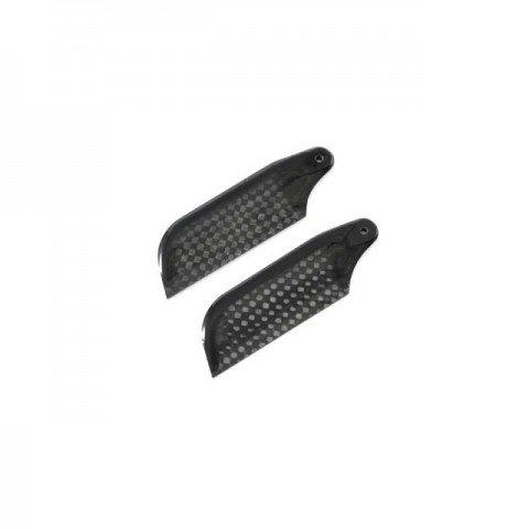 Pro 3D 68mm Carbon Fibre Tail Blade (2 Blades) - PRO0681