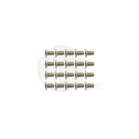 Simply RC M4 x 8 Socket Counter Sunk Screw (Pack of 20 Screws) - SRC-40029