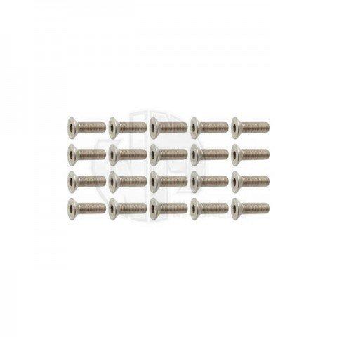 Simply RC M4 x 14 Socket Counter Sunk Screw (Pack of 20 Screws) - SRC-40032