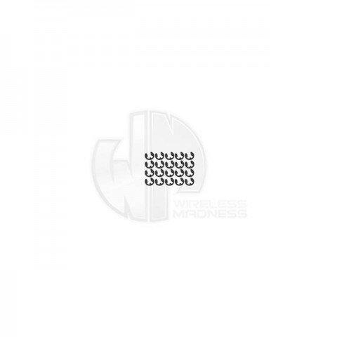 Simply RC 0.8mm E-Clip (Pack of 20 E-Clips) - SRC-40066