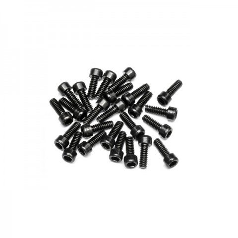HPI 2.5mm Hex Socket Wheel Screw M4 (40mm) (25 Screws) - Z340