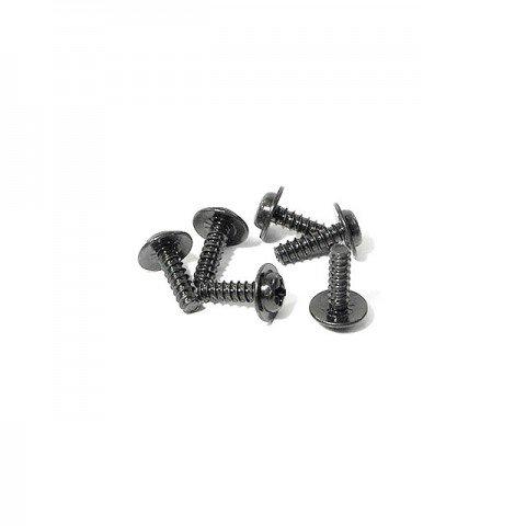 HPI M3x10mm TP Flanged Screw (Pack of 6 Screws) - Z561