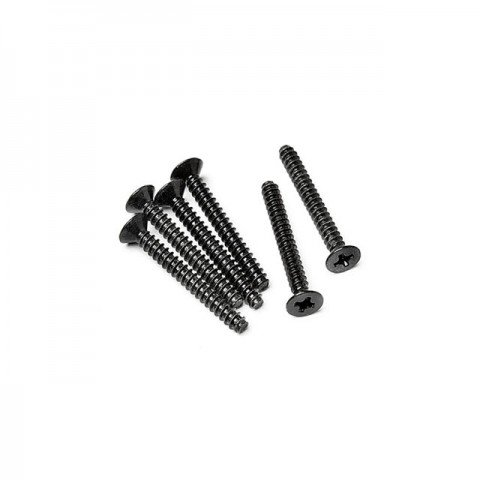 HPI TP Flat Head Screw M3x25mm (6 Screws) - Z583