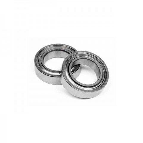 """Edit 3/8"""" x 5/8"""" x 5/32"""" Ball Bearing (ABEC 3) (2 Bearings) (9.5mm x 15.9mm x 4mm) - ED154020"""