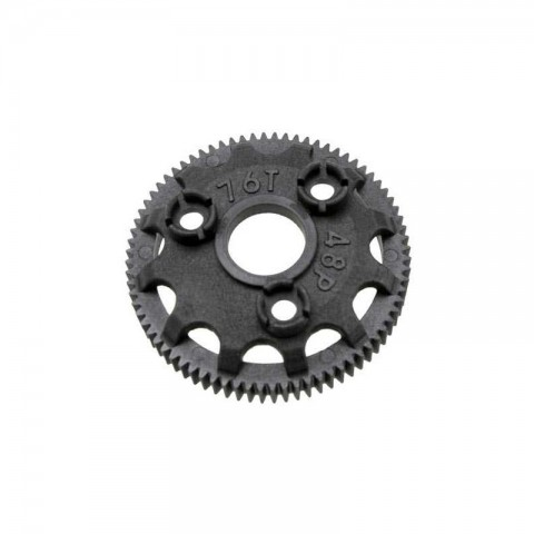Traxxas 76-Tooth Spur Gear 48-Pitch for Models with Torque-Control Slipper Clutch - TRX4676