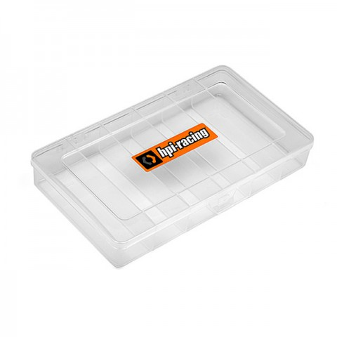 HPI 210x130mm Parts Storage Box with Decals - 110621