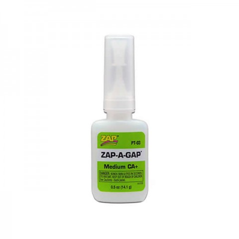 ZAP-A-Gap PT03 Medium CA+ Glue 1/2oz - 5525640