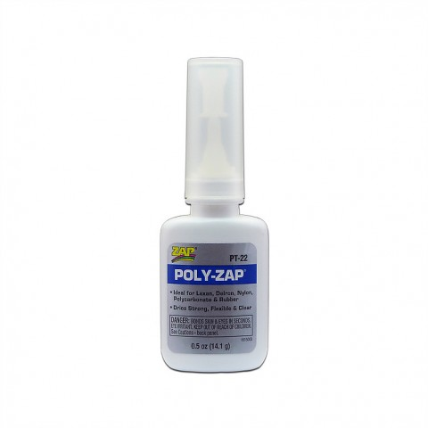 Zap Poly-Zap CA PT22 Glue 1/2oz - 5525684