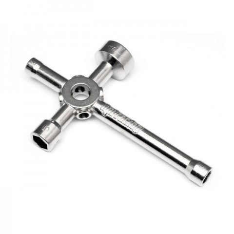HPI 4 Way Glow Plug Wrench (Large) - 87546