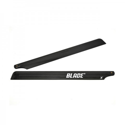 Blade 450 X Flybarless 325mm Carbon Fibre Rotor Blade Set with Washers - BLH4315