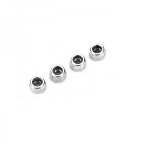 Dubro Nylon Insert 3mm Lock Nut (Pack of 4 Nuts) - DB2101