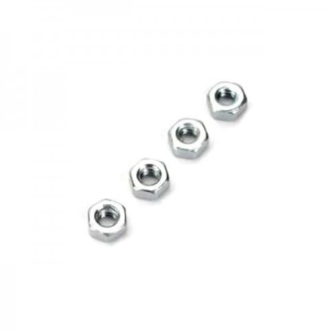 Dubro 2.5mm Steel Hex Nut (Pack of 4 Nuts) - DB2104