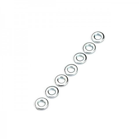 Dubro 2mm Flat Washer (Pack of 8 Washers) - DB2107