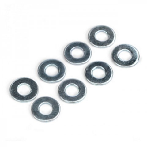 Dubro 4mm Flat Washer (Pack of 8 Washers) - DB2110