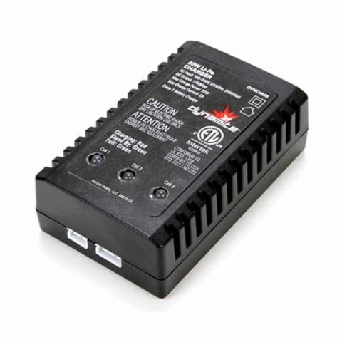 Dynamite 20 watt LiPo AC Battery Charger UK Version - DYNC0505UK